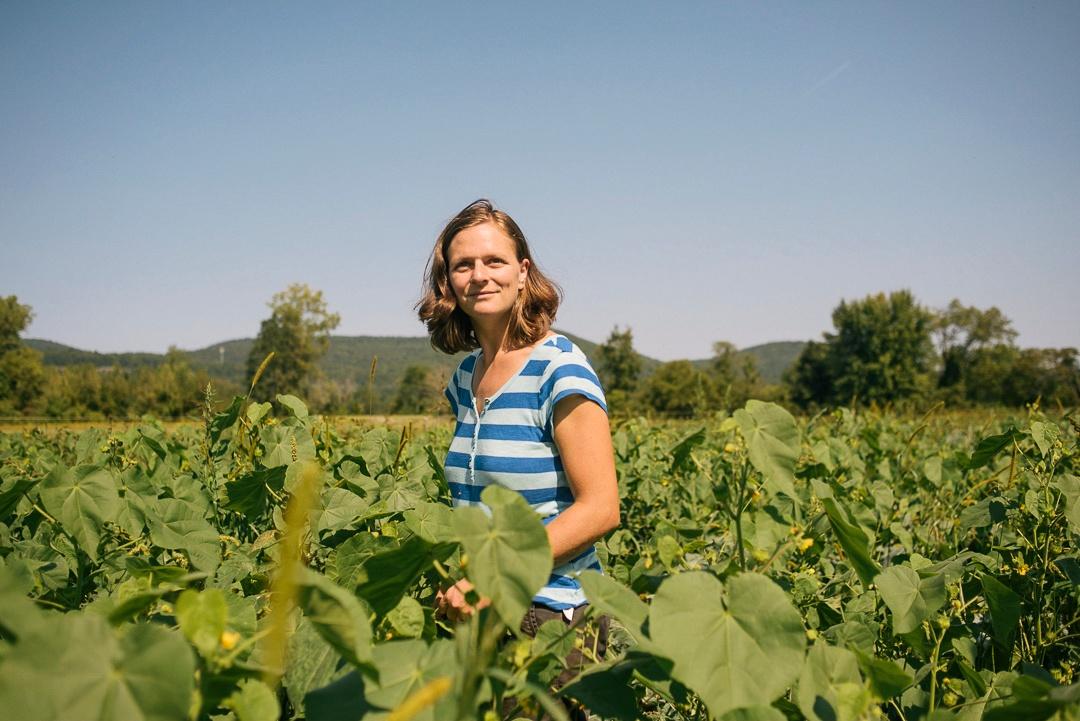 Caroline Pam of the Kitchen Garden