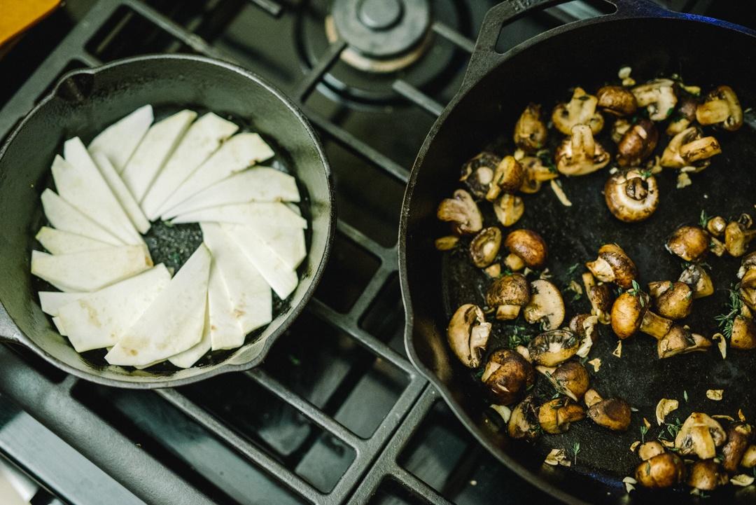 Boston Organics - Baked Mushroom and Celeriac Torte