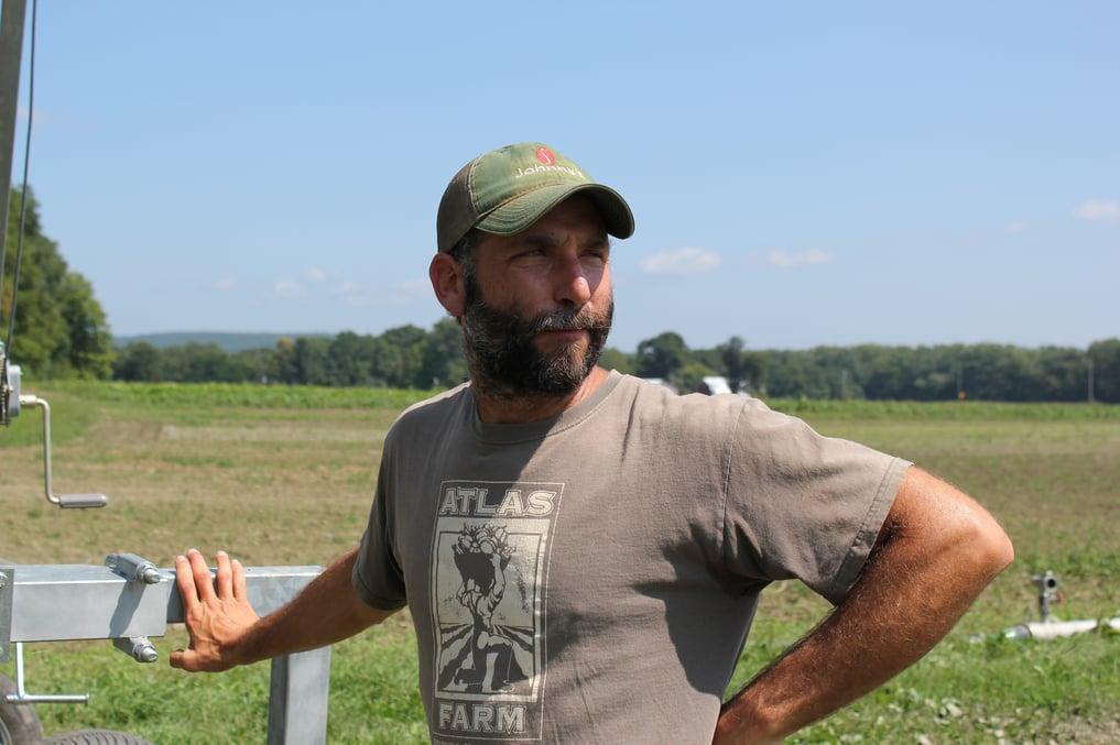 Gideon Porth, owner of Atlas Farm