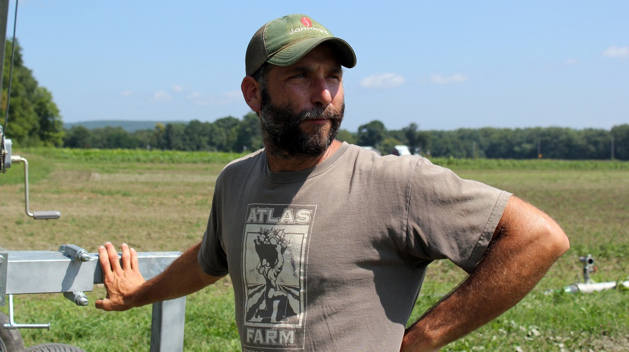 Gideon Porth owner of Atlas Farm | Boston Organics