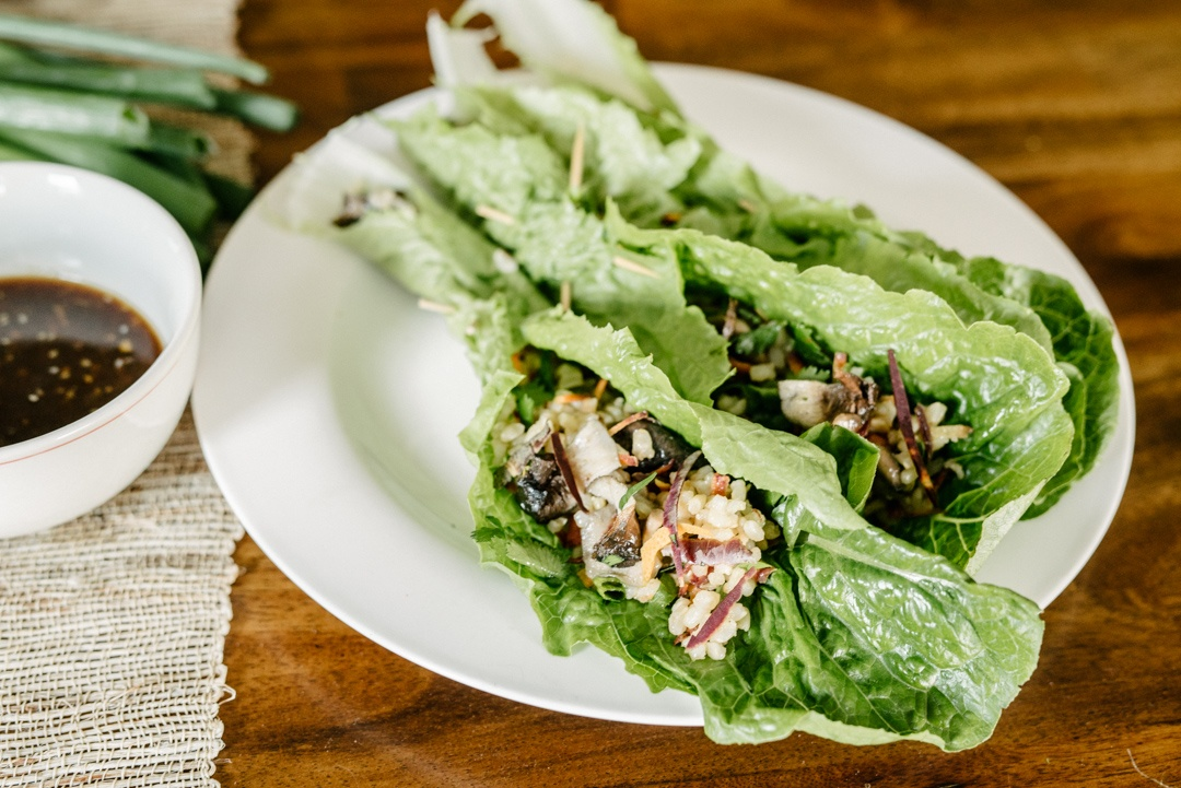 Boston Organics - Minneola Brown Rice Lettuce Wraps