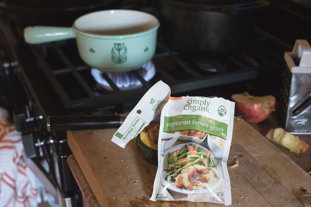 Boston Organics - Simply Organic Vegetarian Brown Gravy