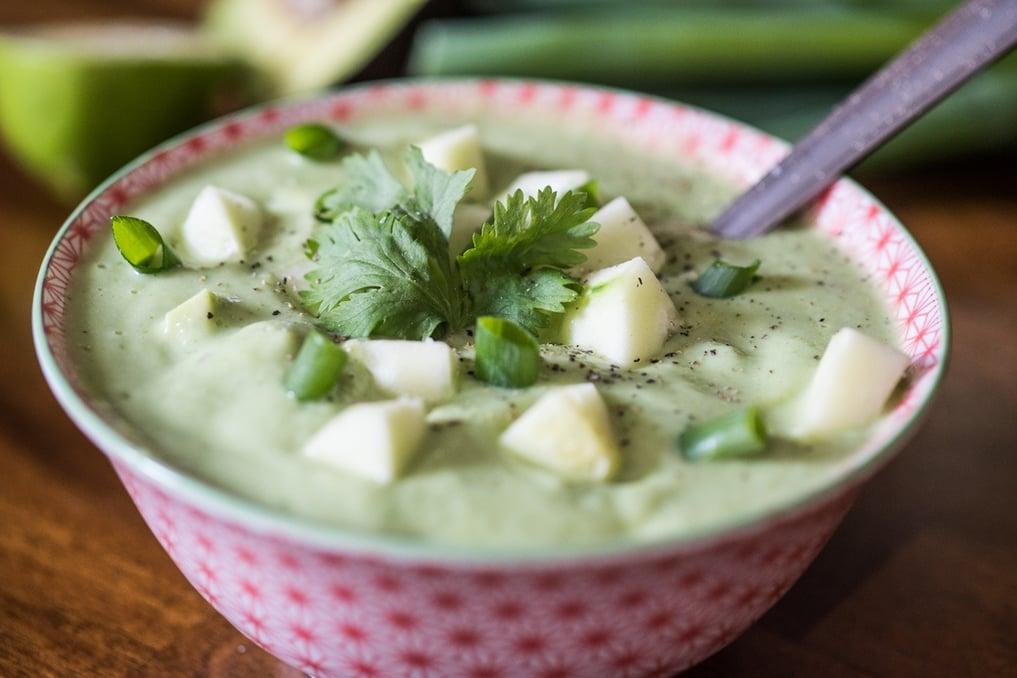 Boston Organics - Chilled Cucumber Avocado Soup