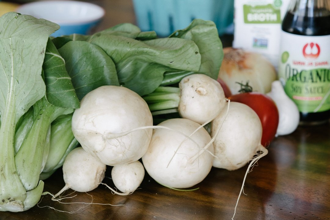 Boston Organics - Hakurei Turnips