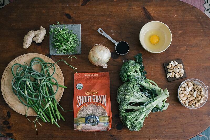 Broccoli Stir Fry Ingredients | Boston Organics