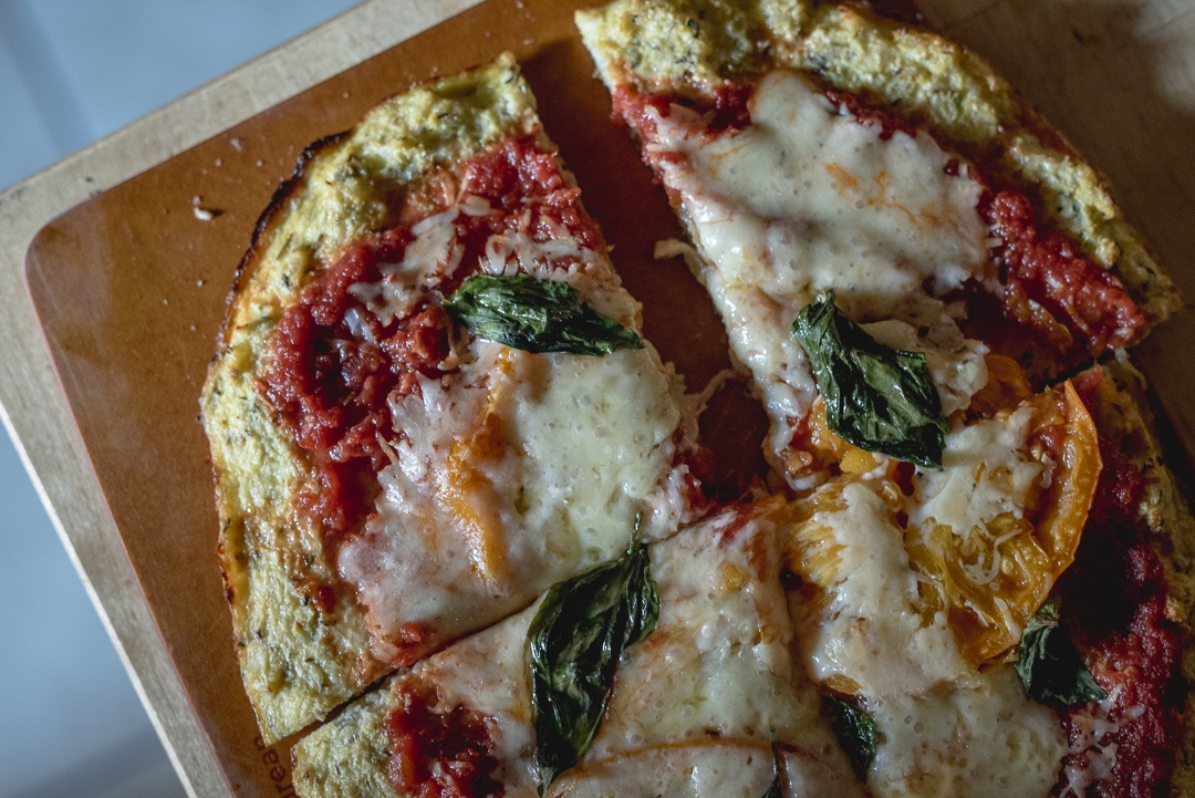 Boston Organics - Cauliflower Pizza