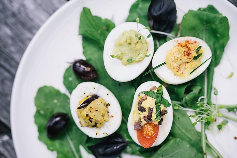 Four Ways to Make Deviled Eggs