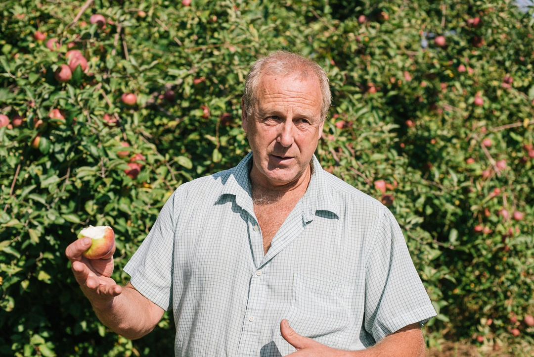 Read Miller of Dwight Miller Orchards | Boston Organics