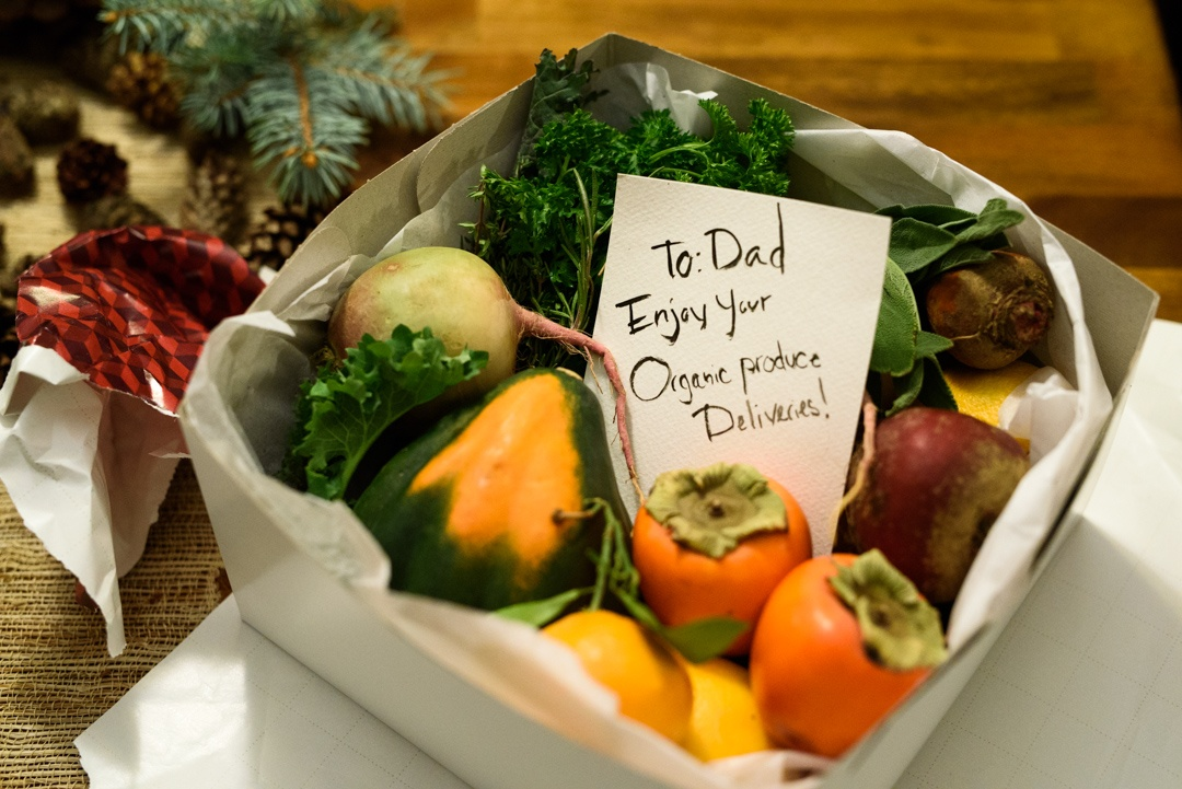 Give the gift of Boston Organics.