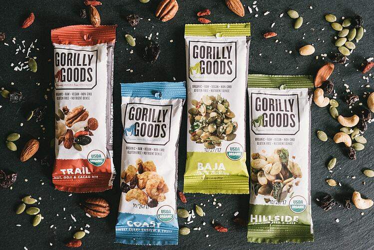 Boston Organics - Gorilly Goods Snacks