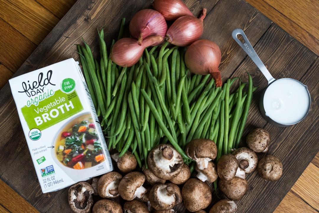 Boston Organics - Green Bean Casserole Ingredients