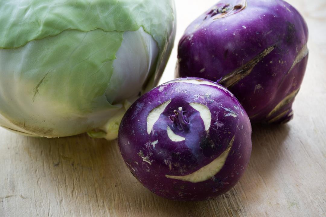 Boston Organics - Purple Kohlrabi