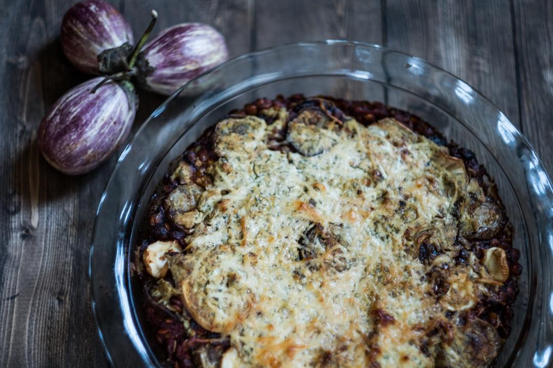 Boston Organics - Lentil Eggplant Lasagna