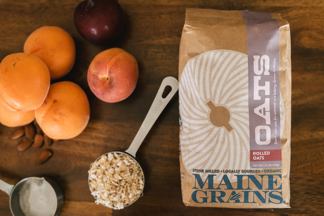 Boston Organics - Maine Grains Rolled Oats