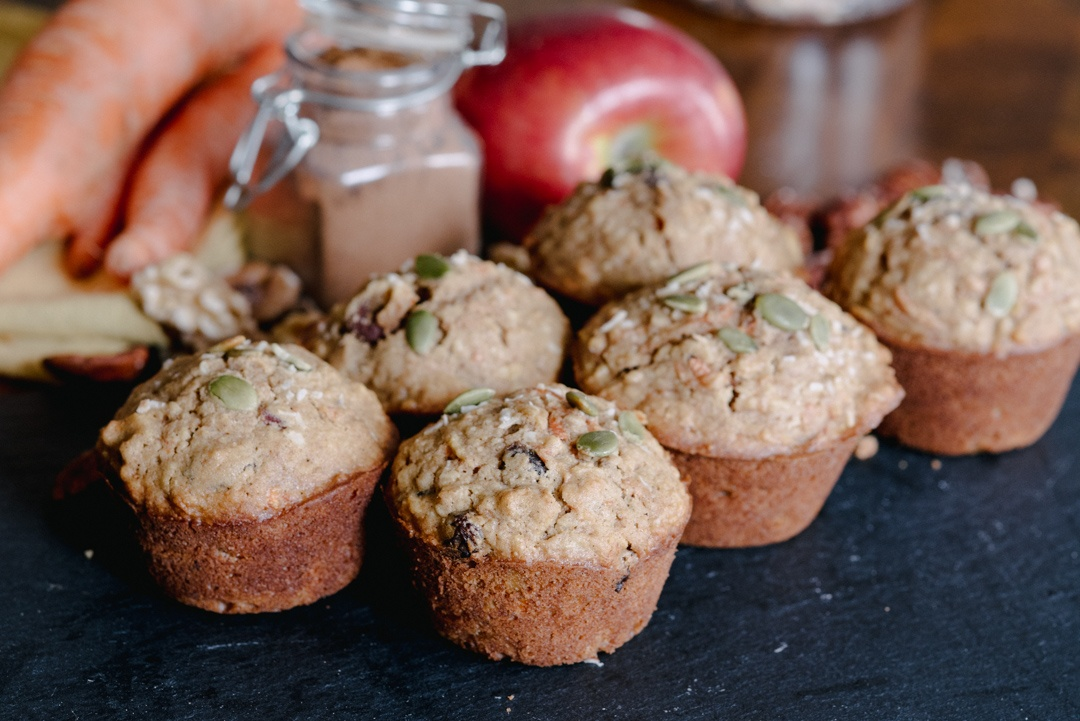 Boston Organics - Easy Morning Glory Muffins