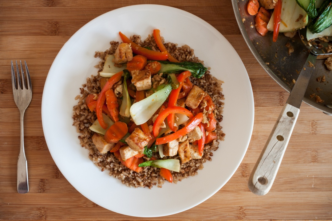 Boston Organics - Orange Ginger Tofu