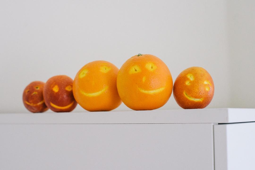 Boston Organics - Silly Orange Faces