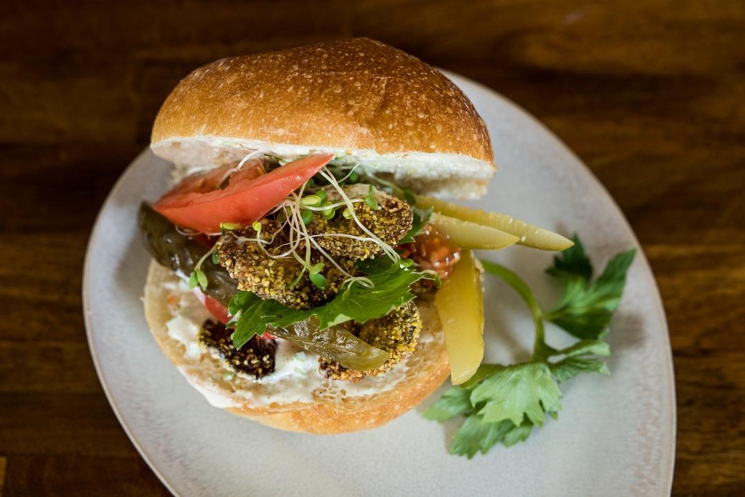 Boston Organics - Oyster Mushroom Po'boy