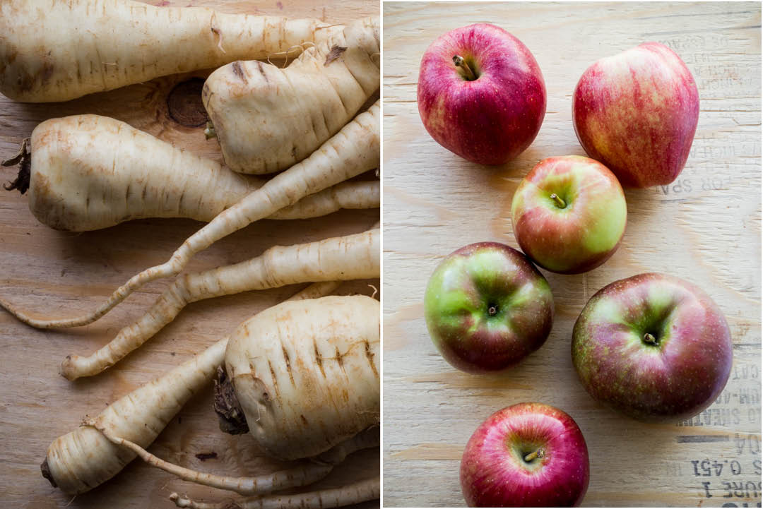 Boston Organics - Parsnips and Apples