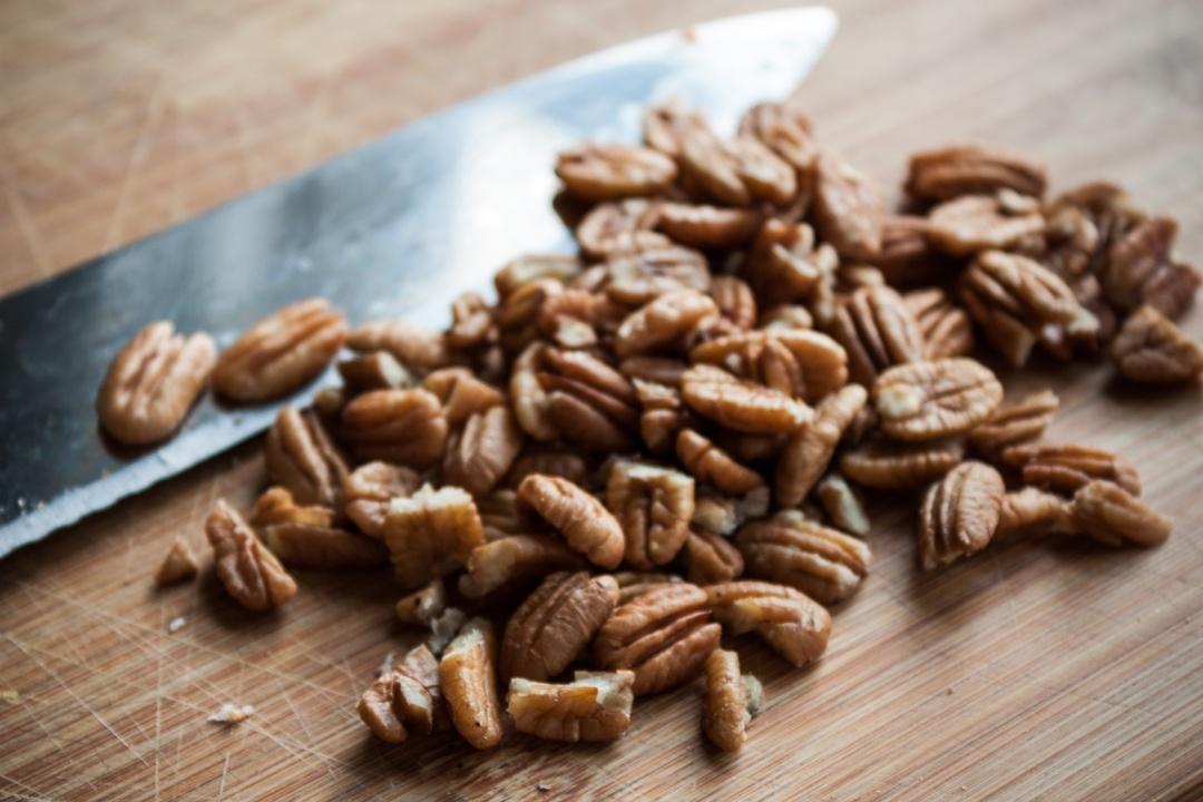 Boston Organics - Pecans help lend protein to homemade bars