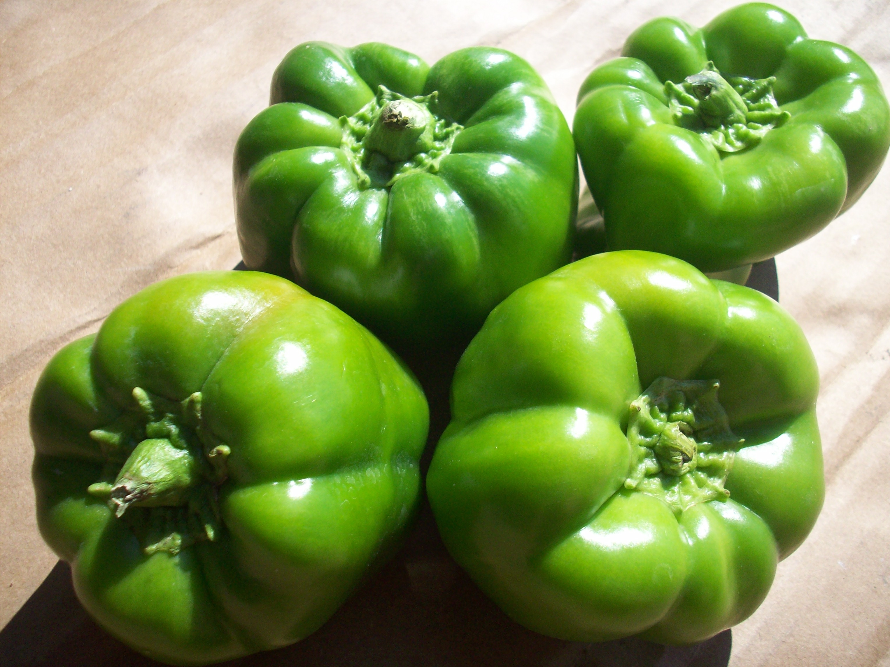 Boston Organics - Green Bell Peppers