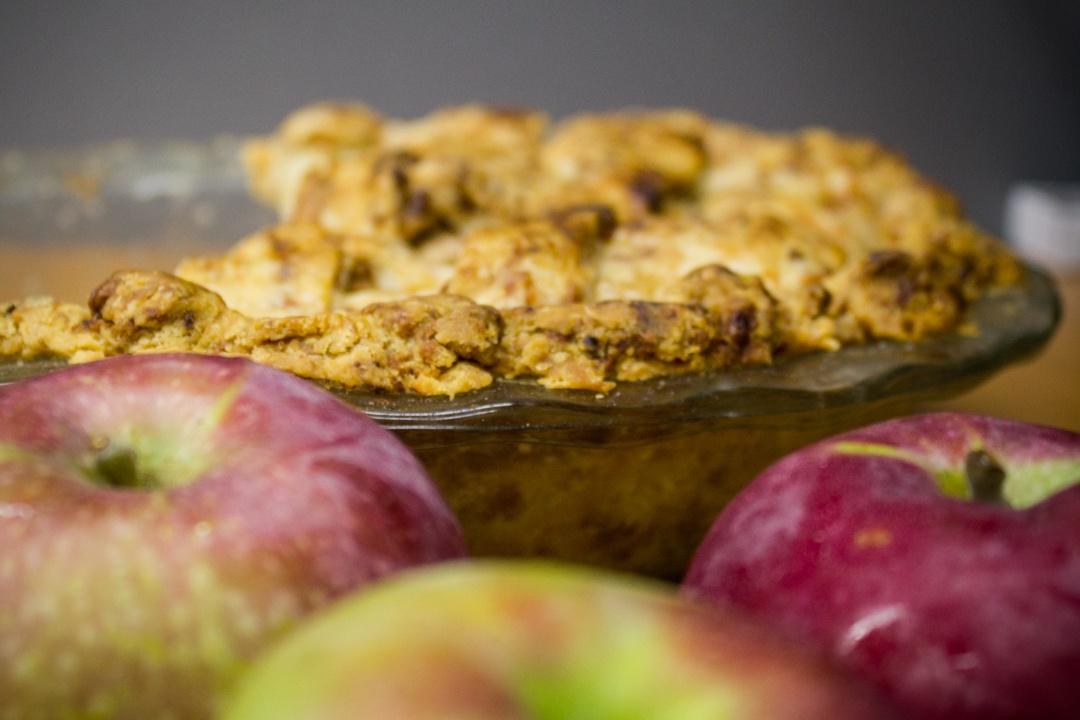 Boston Organics - Apple Pie with a Cheddar Cheese Crust