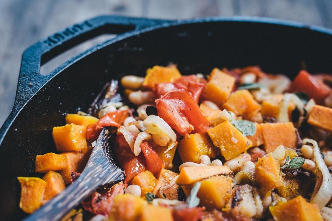 Boston Organics - Squash and White Bean Provencal