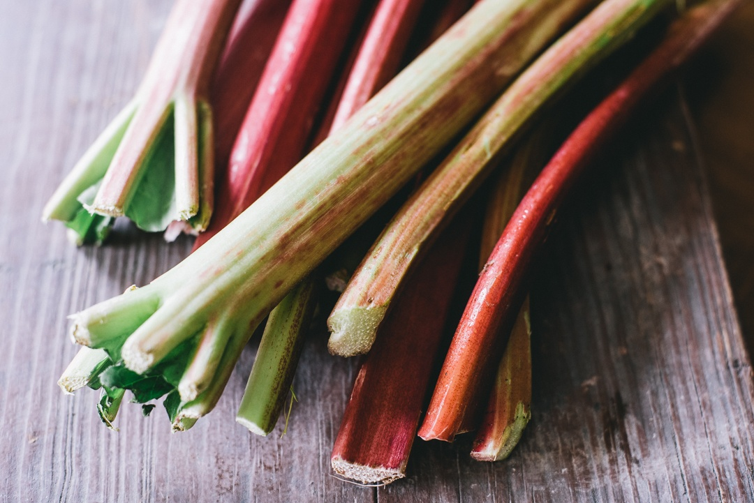 Boston Organics - Rhubarb Stalks