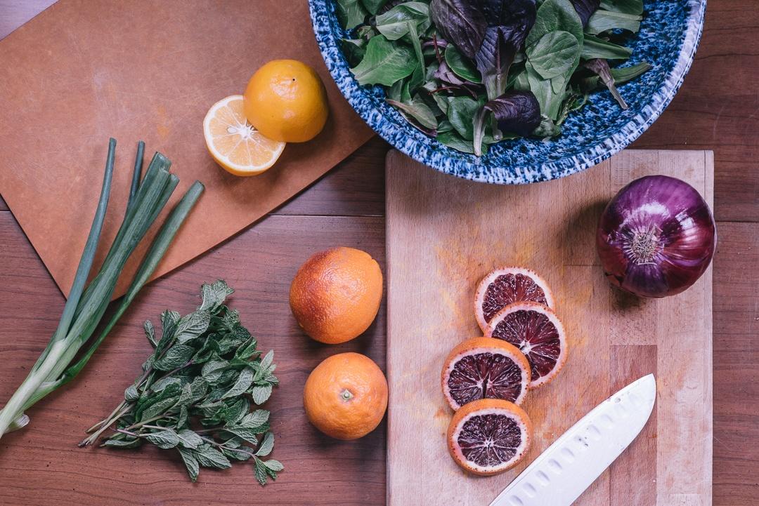 Boston Organics - Roasted Blood Orange Salad