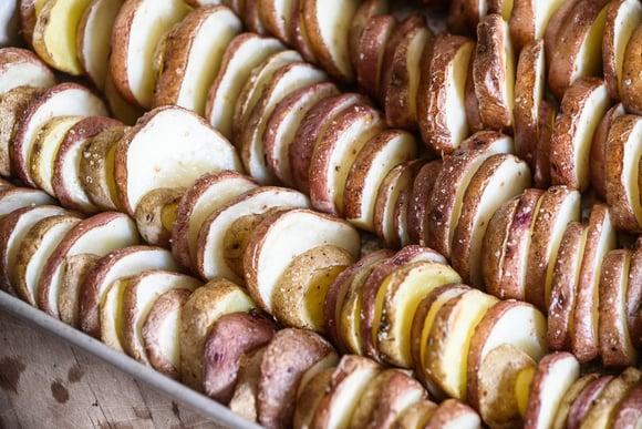Boston Organics - Roasted Rainbow Potato Rows