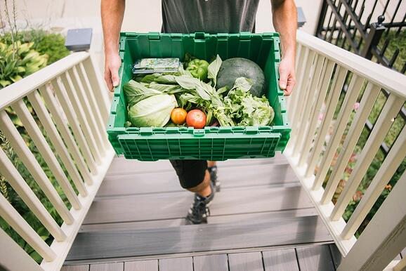 Delivery by Boston Organics