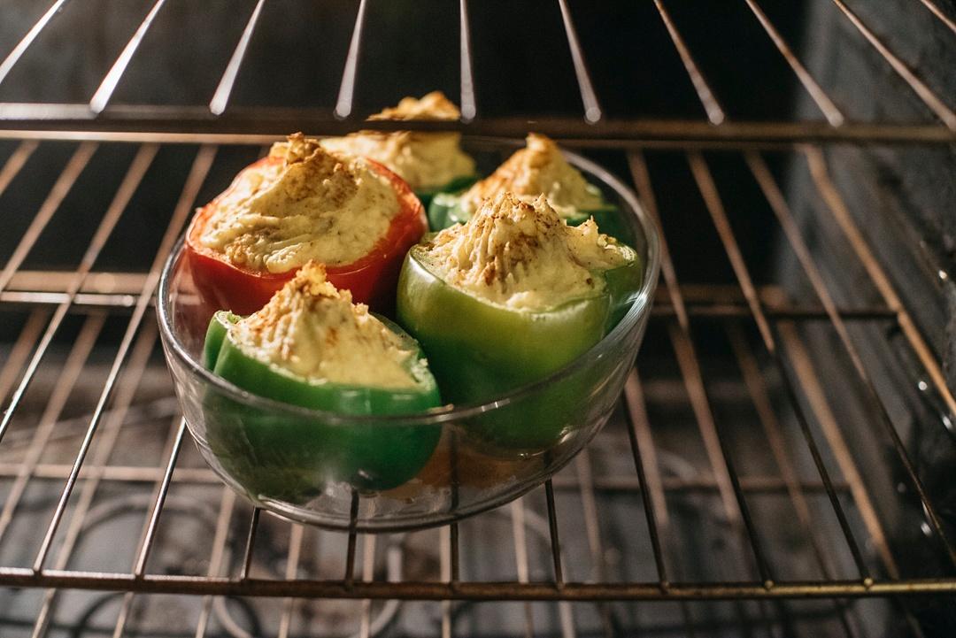 Boston Organics - Shepherd's Stuffed Peppers