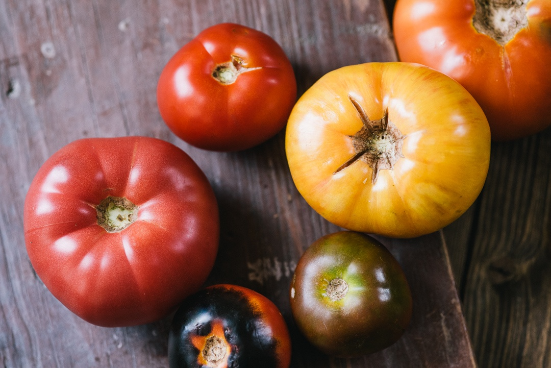 Boston Organics - Heirloom Tomatoes