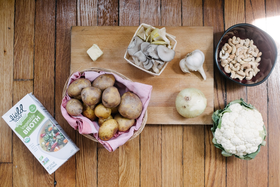 Boston Organics - Clam Free Chowder Ingredients