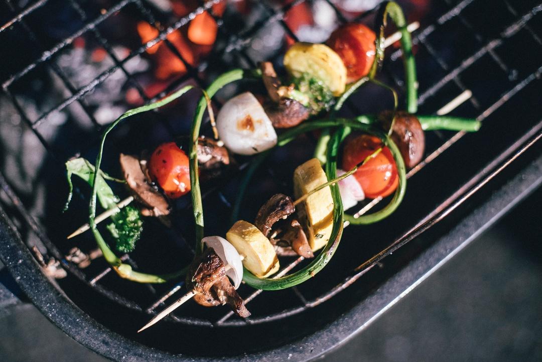 Boston Organics - Grilled Vegetable Kabobs