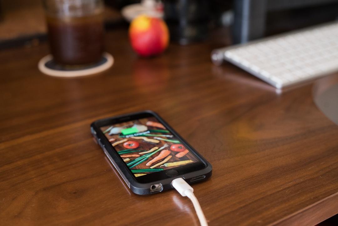 Boston Organics - Keep your phone charged.