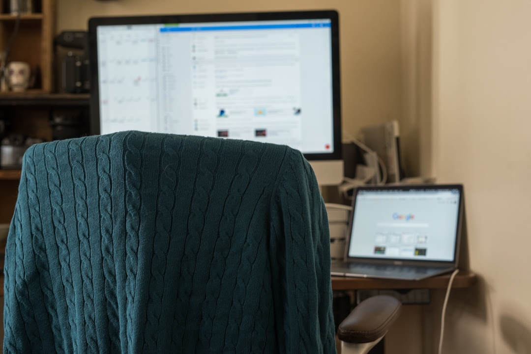 Boston Organics - office sweater