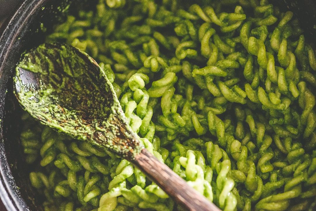 Boston Organics - Spinach Pesto Pasta