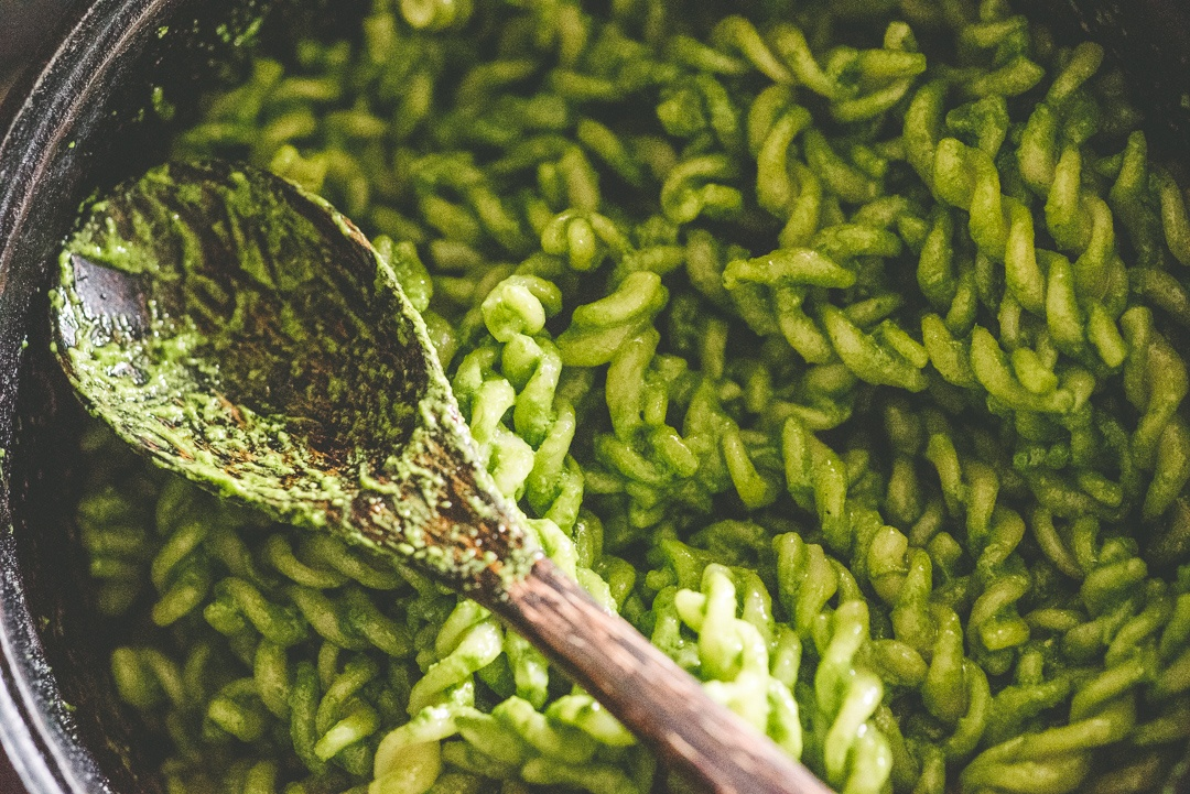 Boston Organics - Spinach Pesto Pasta