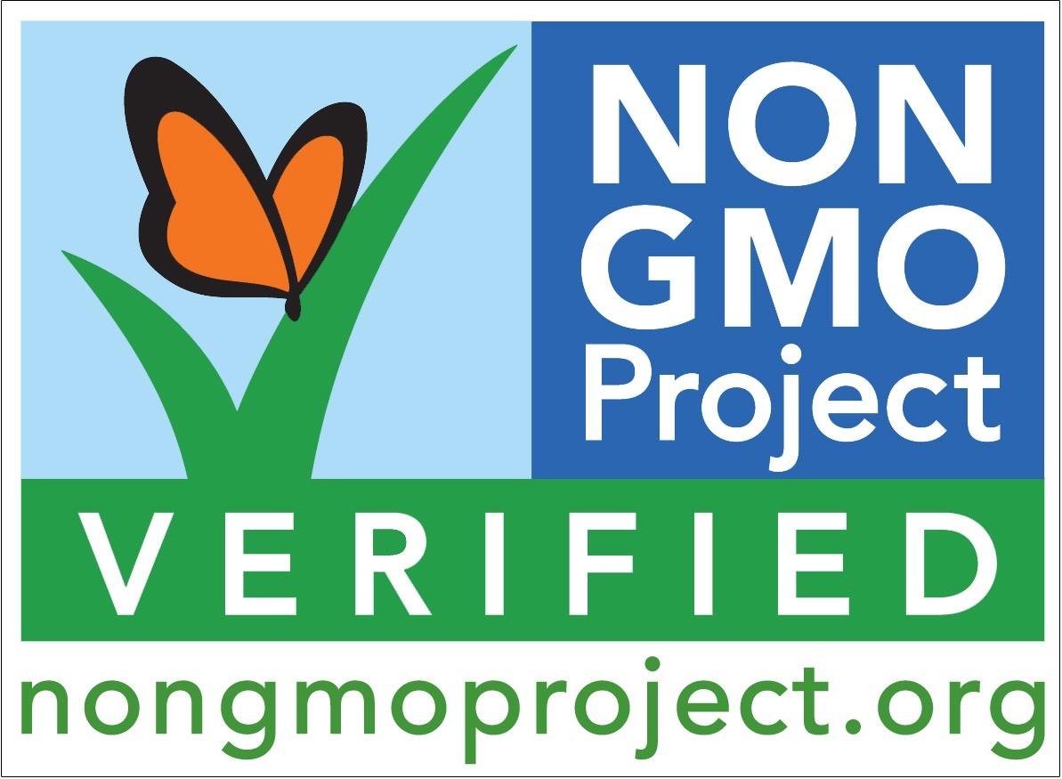 non-GMO verified seal