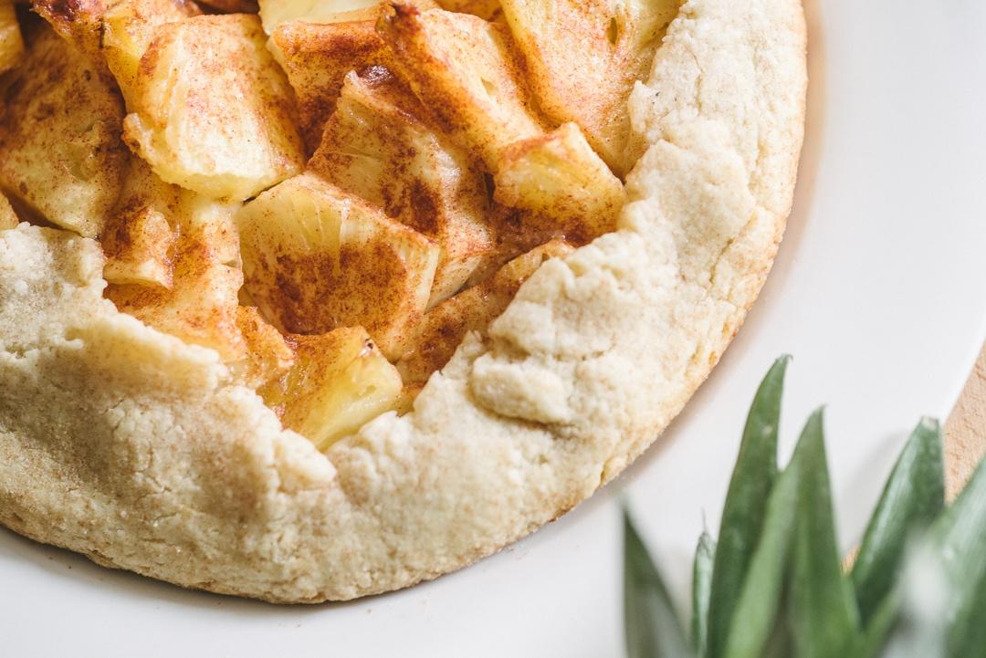 Boston Organics - Pineapple Galette