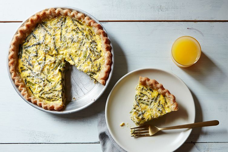 ZUCCHINI, ONION AND RICOTTA PIE
