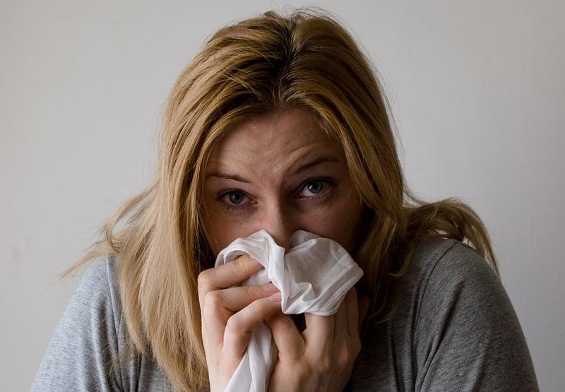 tissue woman