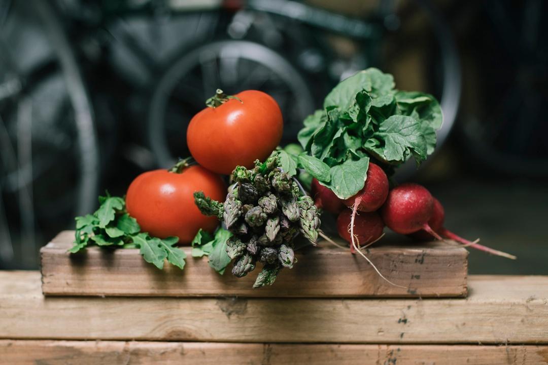 Local Tomatoes, Asparagus, Radishes, Arugula | Boston Organics