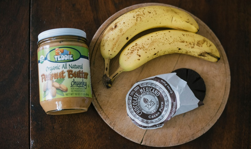 banana peanutbutter ice cream vegan - Boston Organics