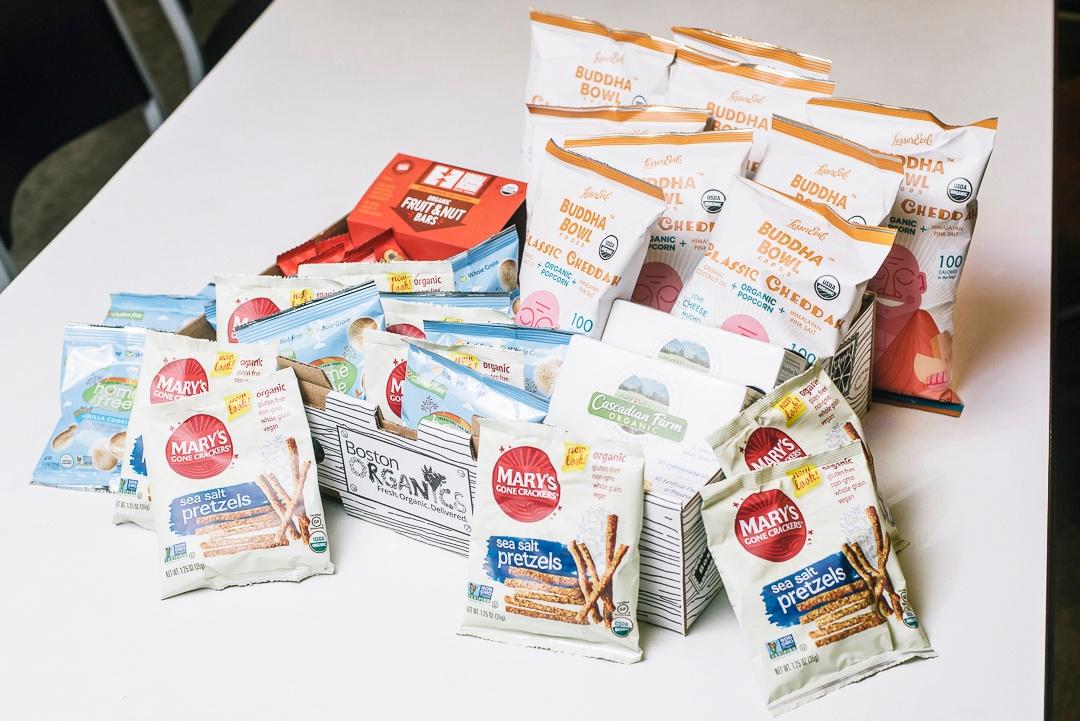 Organic Snack Box   Boston Organics