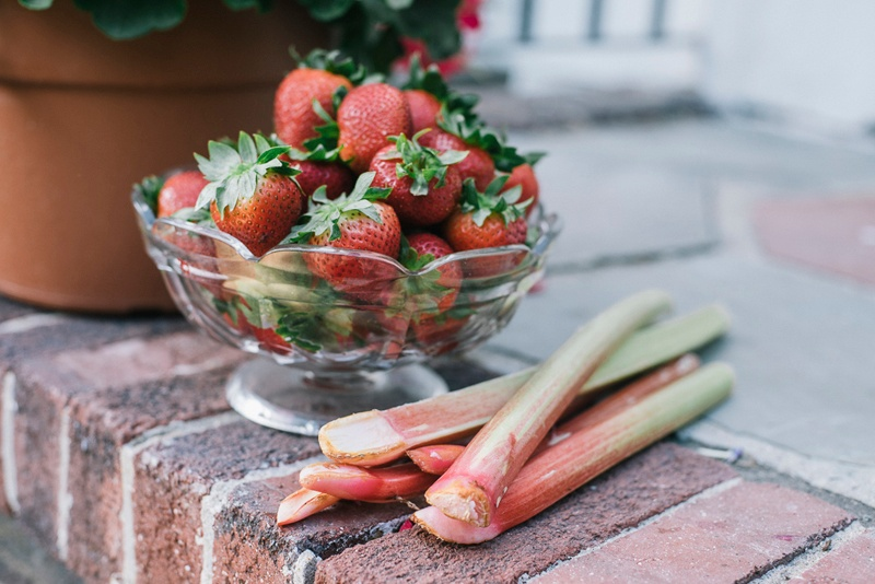 strawberry rhubarb preserve | Boston Organics