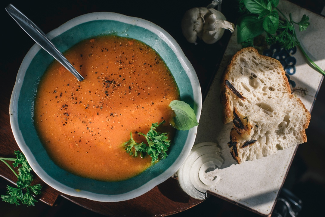 Garden Fresh Heirloom Tomato Soup | Boston Organics