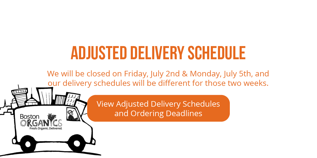 adjusted delivery schedule announcement