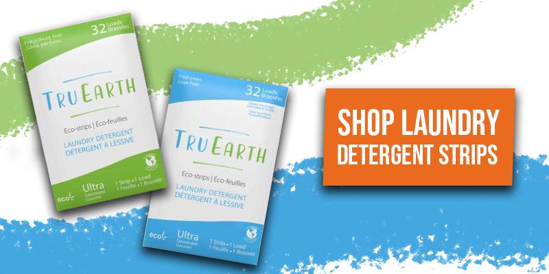 tru earth laundry detergent strips